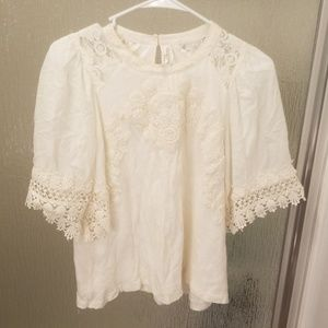 Feather Bone by Anthropologie Size Small
